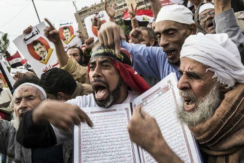Egyptian Islamists - members of the Muslim Brotherhood